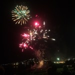 NYE fireworks at Coogee