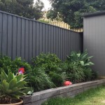 backyard fence - new